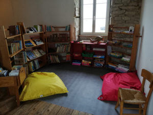bibliothèque école