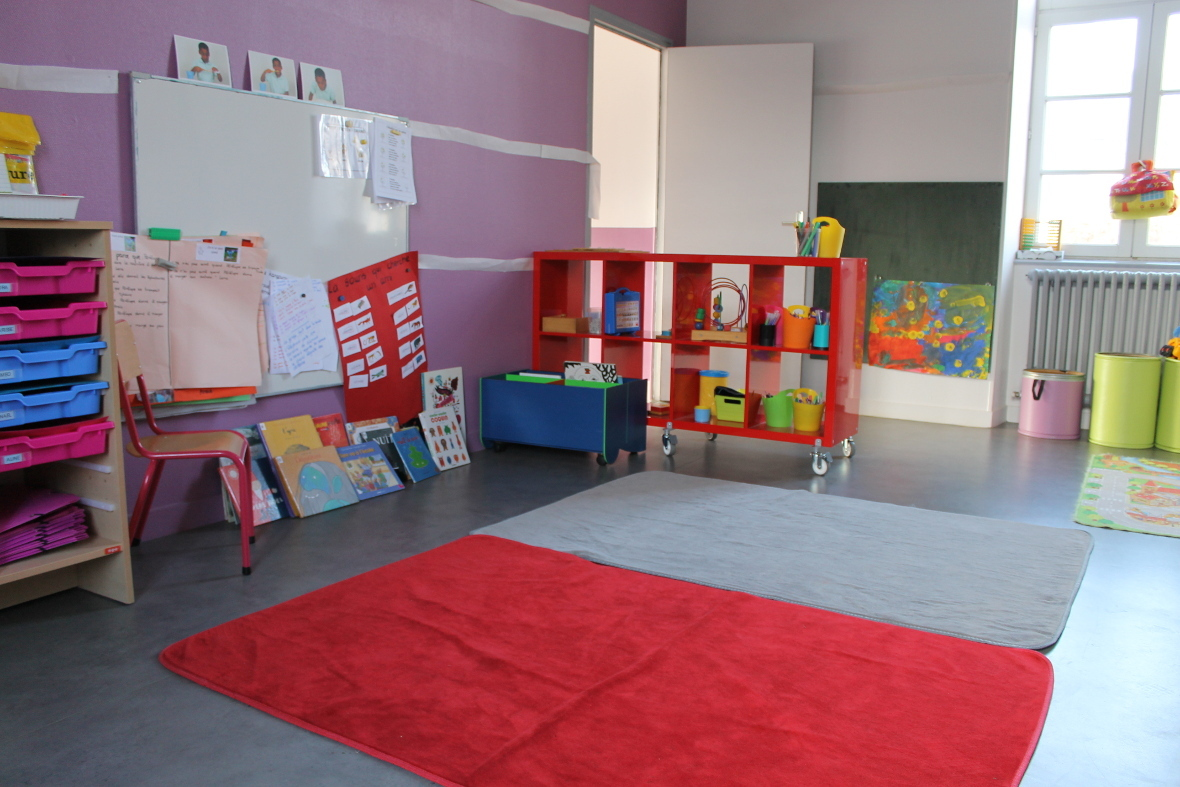classe maternelle école notre dame de lorette pouldreuzic