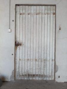 Ancienne porte cour des maternelles écoloe Notre Dame de Lorette Pouldreuzic